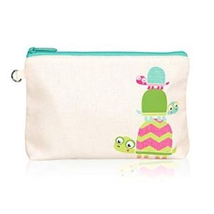 Thirty-One Mini Zipper Pouch Topsy Turtles $6